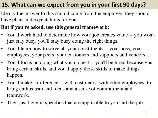 Job Interview Questions?