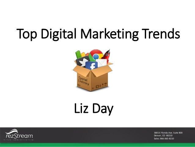 Top marketing trends of 2015