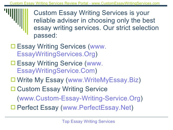 Best custom essay writing