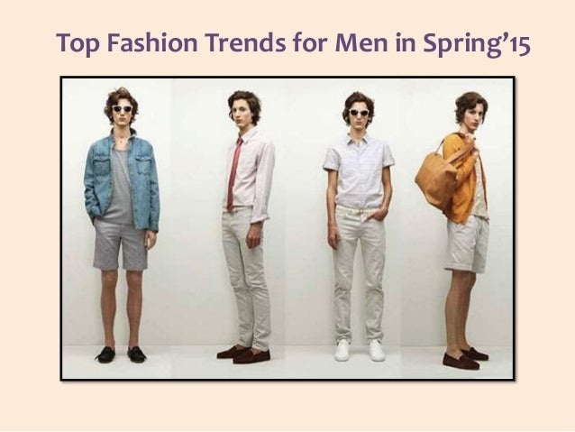 Top fashion trends for men in spring 15