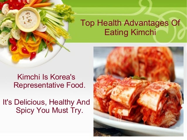 the health benefits of kimchi Kimchi or kimchee is a traditional fermented korean delicacy, which is made from vegetables including napa cabbage and radishes health benefits news.