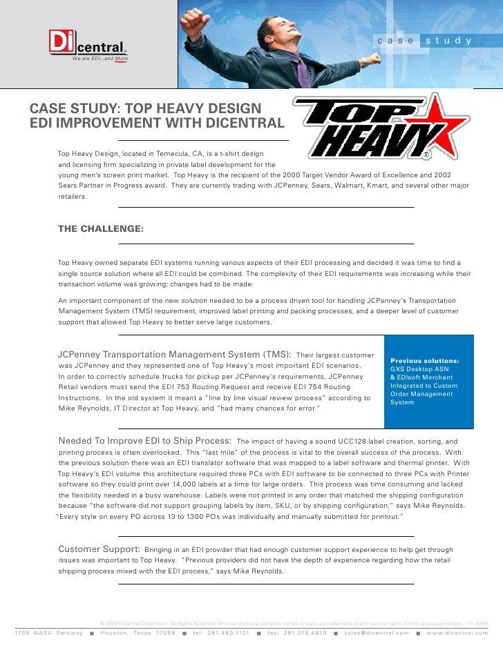 ERP / EDI Integration Case Study