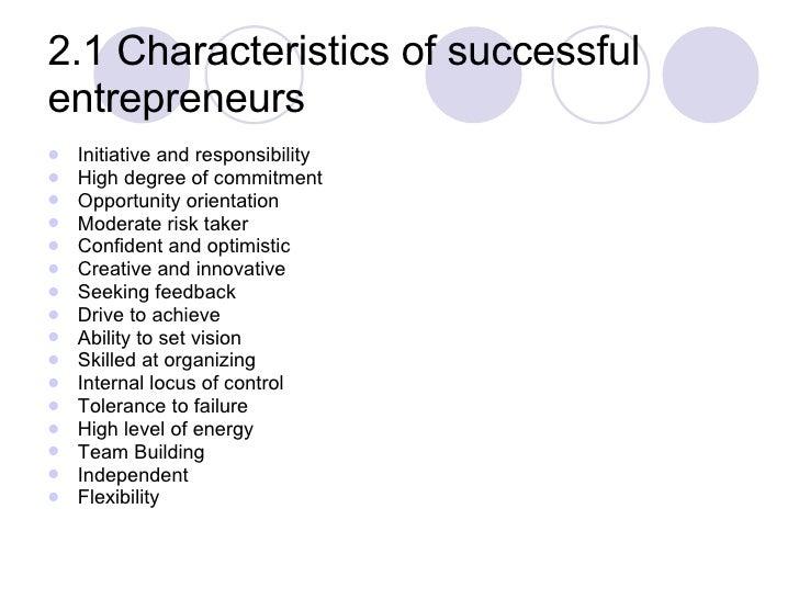 5 Key Attributes Successful Entrepreneurs Possess