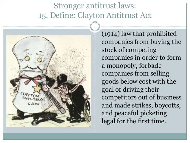 "antitrust laws 2 Ftc fact sheet: antitrust laws: a brief history o nce upon a time, way back in the 1800s, there were several giant businesses known as ""trusts."