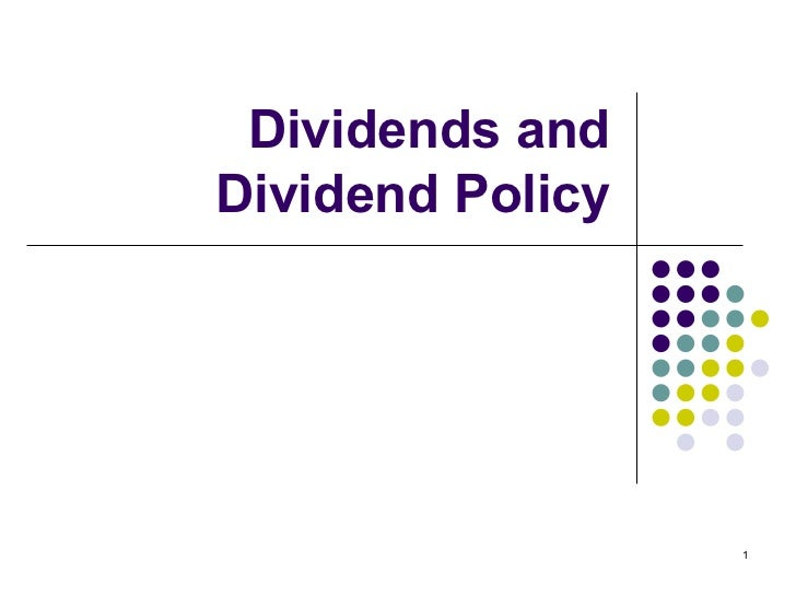 dividend policy link bewteen theory Relationship between corporate governance and dividend payout in companies  operating in  the agency theory points out that the dividend payout could be.