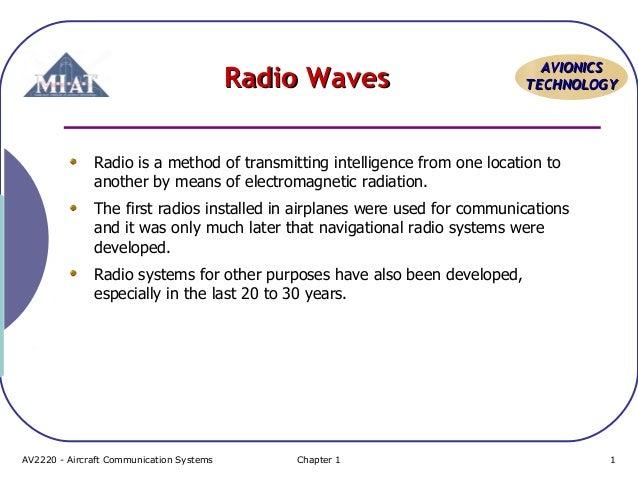 Nav Topic 1 basic radio wave properties
