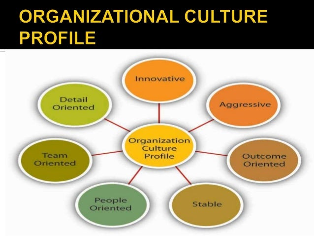 the impact of organizational culture on
