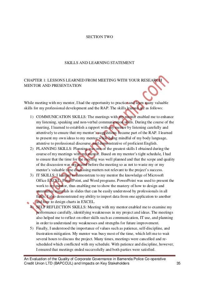 Declaration of authenticity dissertation