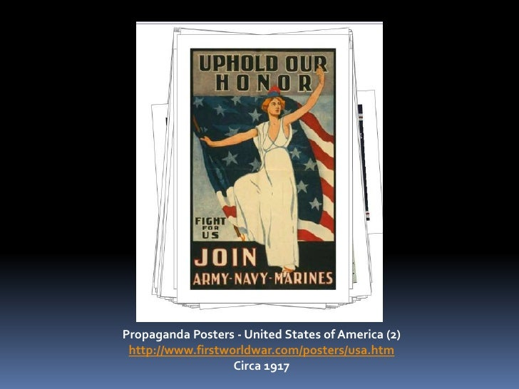 Propaganda Posters - United States of America (2) http://www.firstworldwar.com/posters/usa.htm<br />Circa 1917<br />