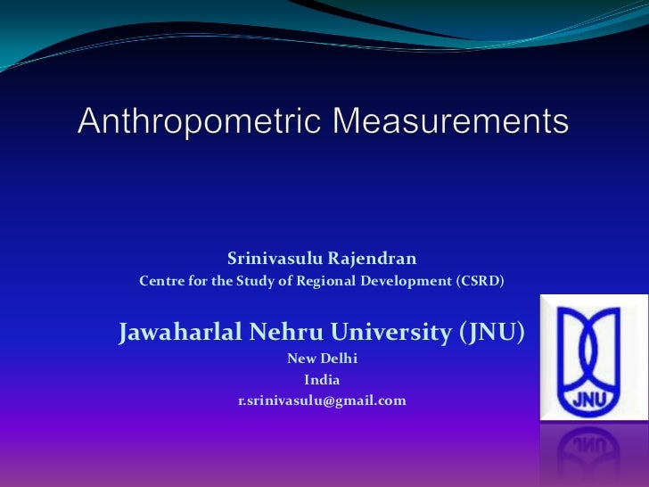 Srinivasulu Rajendran Centre for the Study of Regional Development (CSRD)Jawaharlal Nehru University (JNU)                ...