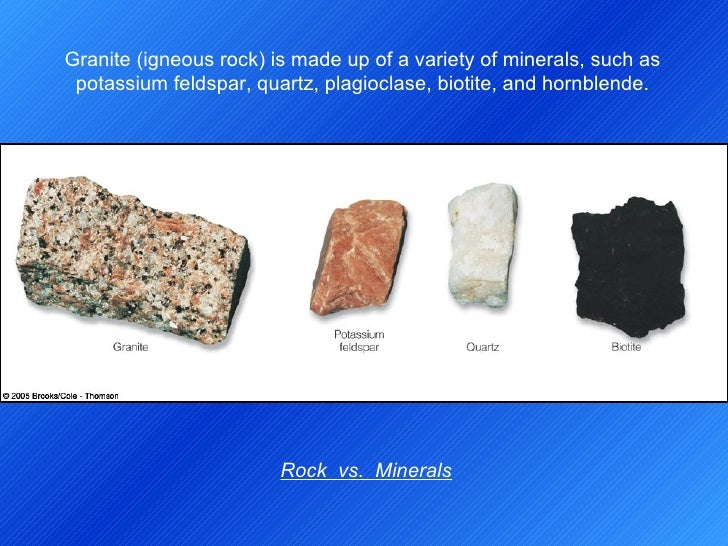 Physical And Chemical Properties Of Granite