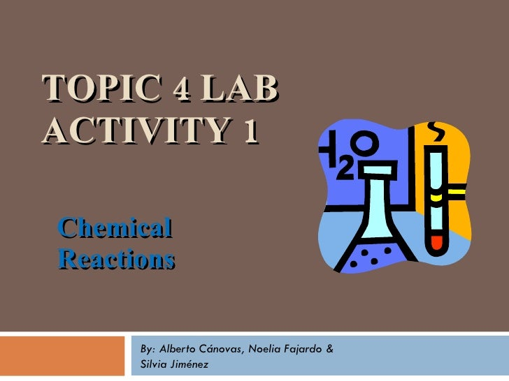 Chemical Reactions 2