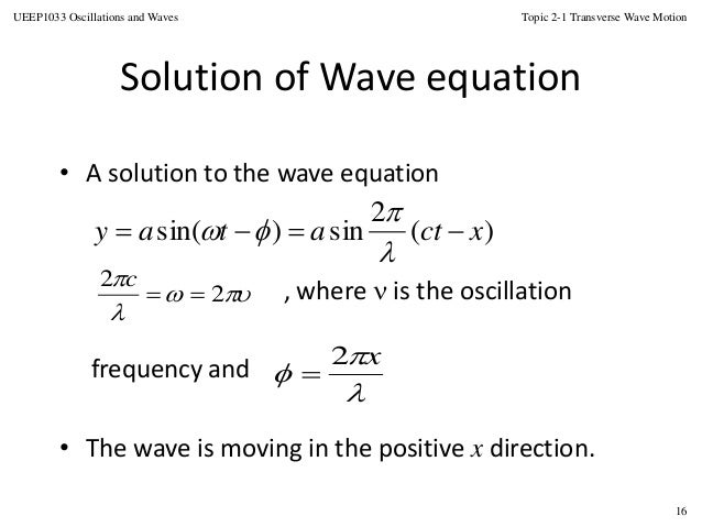 Amplitude period frequency and wavelength of periodic