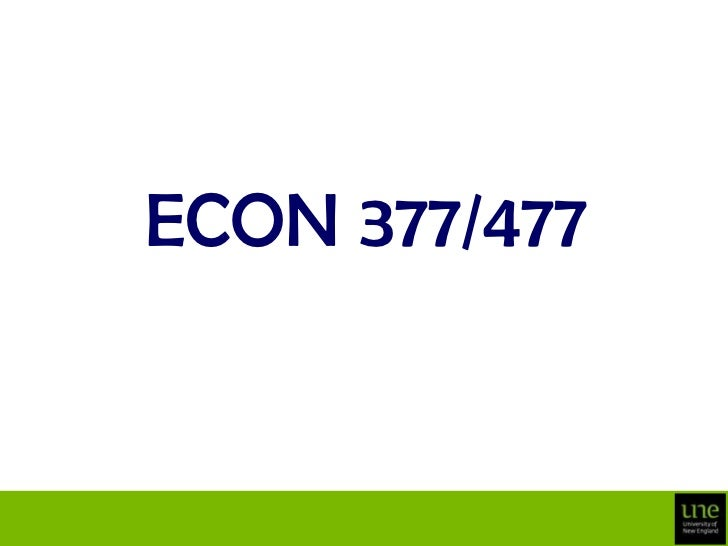 ECON 377/477<br />