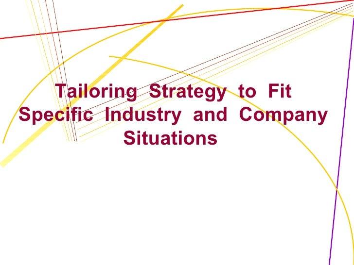 Topic5 Tailoring Strtgs