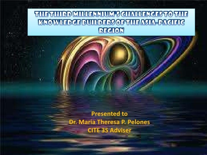 Presented toDr. Maria Theresa P. Pelones      CITE 3S Adviser