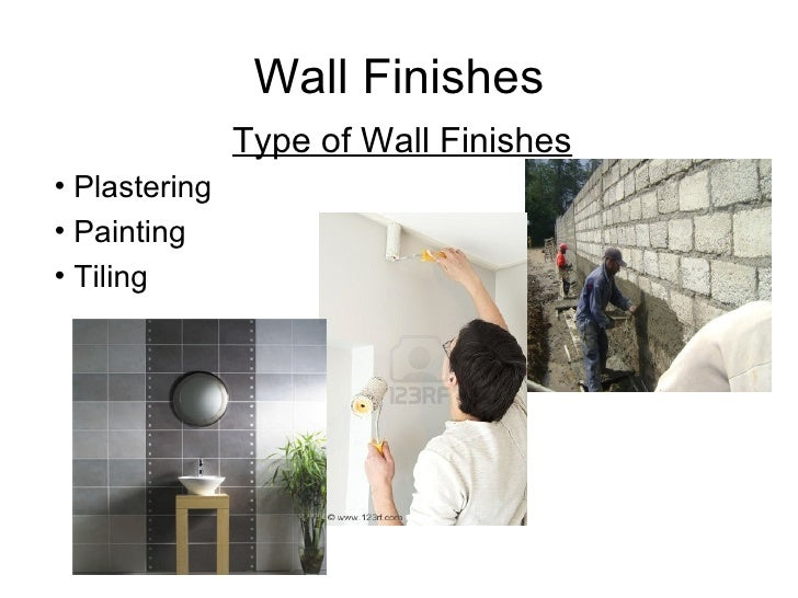 Types Of Plaster Wall Finishes : Topic finishes