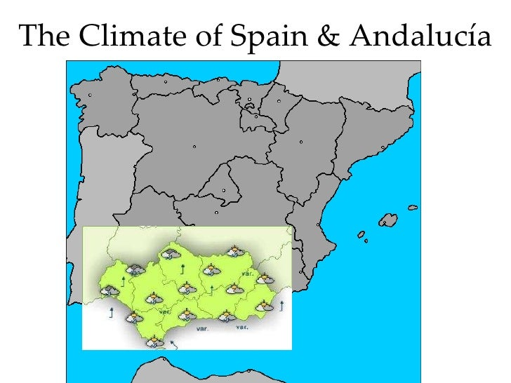 The Climate of Spain & Andalucía
