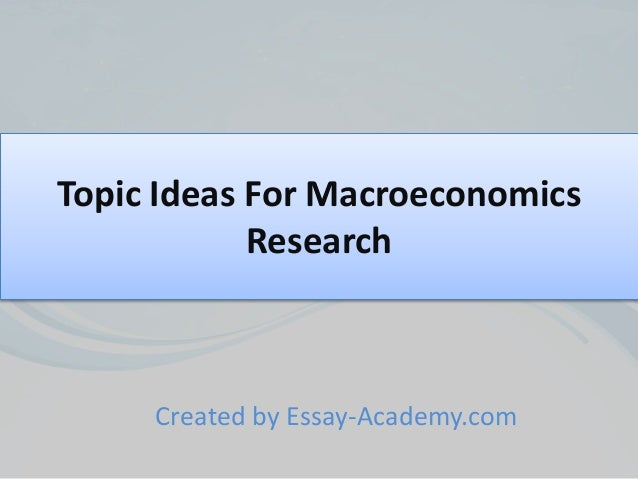 macroeconomics written assignment 3