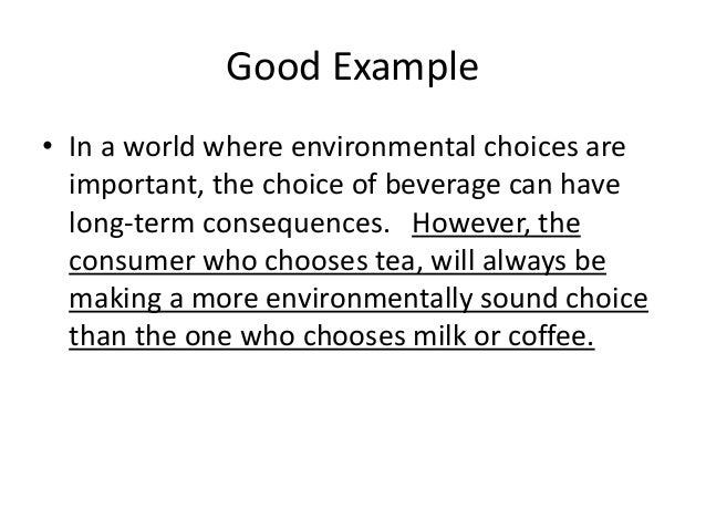 making better choices essay We need to create something better by making personal choices that respect the principles of sustainability an essay on personal sustainability.