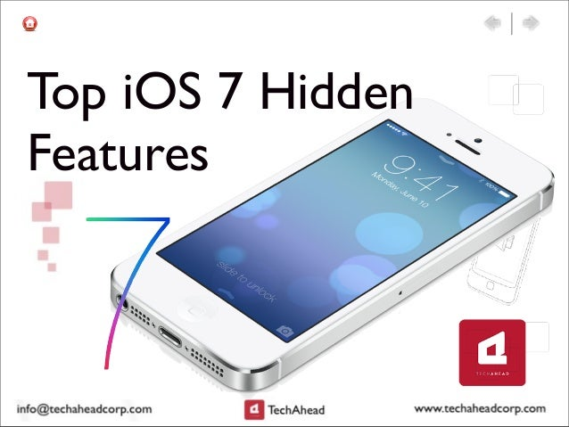 Top iOS 7 Hidden Features