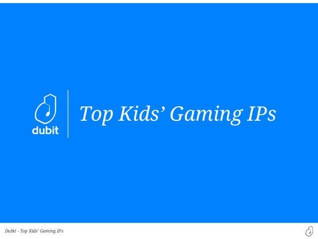 Dubit -Top Kids' Gaming IPsTop Kids' Gaming IPs