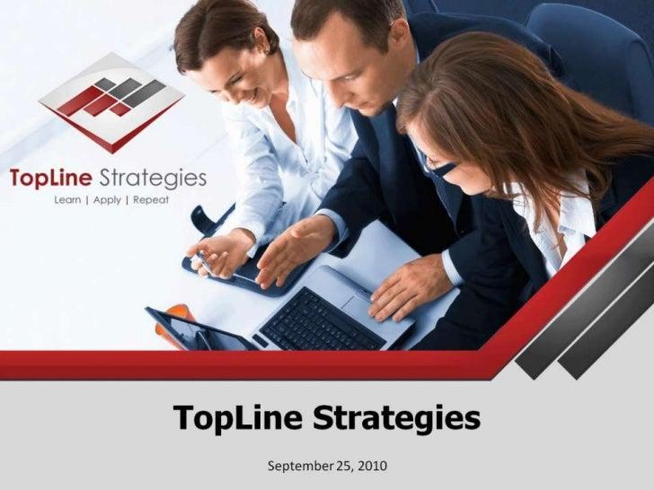 TopLine Strategies<br />