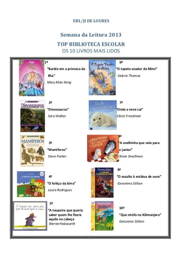 Top livros cartaz_loures