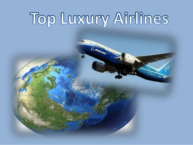Top luxury airlines