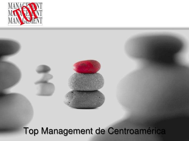 Top Management de  Centroamérica