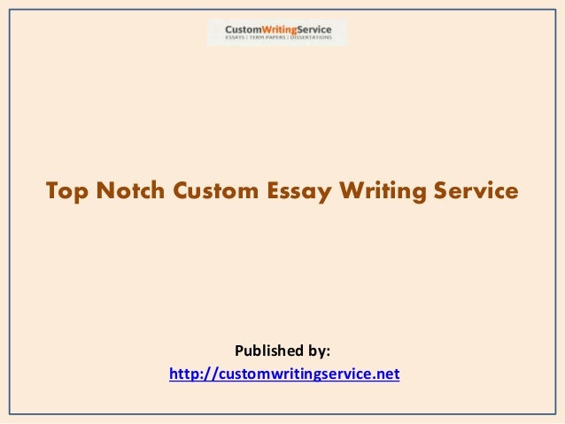 Introducing the best essay writing service