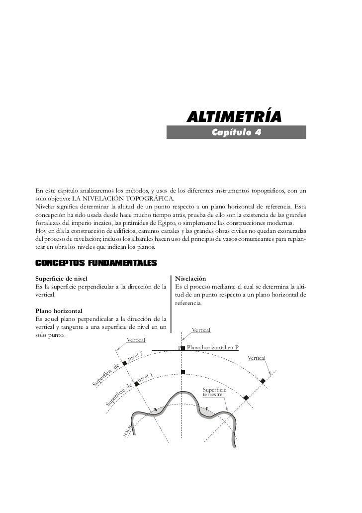 Altimetría                                                                                                                ...