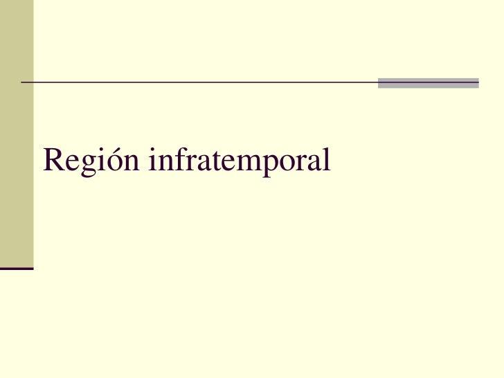 Topografica  regioìn infratemporal
