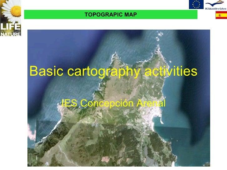 Basic cartography activities IES Concepción Arenal