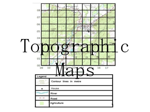 Secondary 1 Geography-Topographic Map