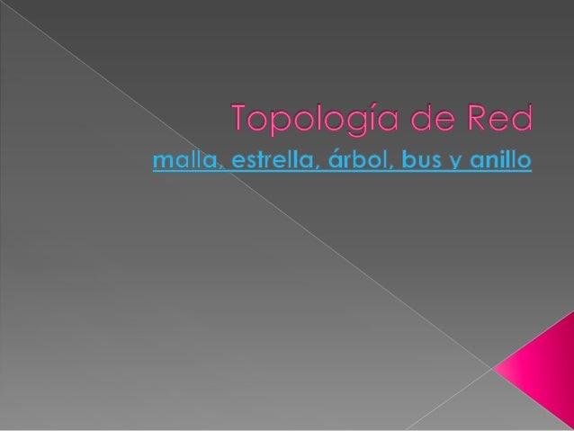   El término topología se refiere a la forma en que está diseñada la red, bien físicamente(rigiéndose de algunas caracter...