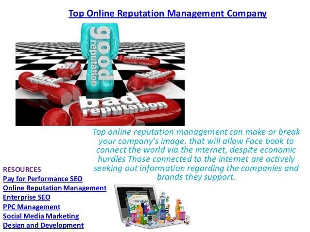 Top online reputation management company