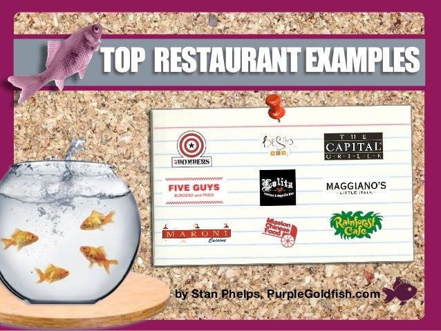 Top Purple Goldfish Restaurant Examples