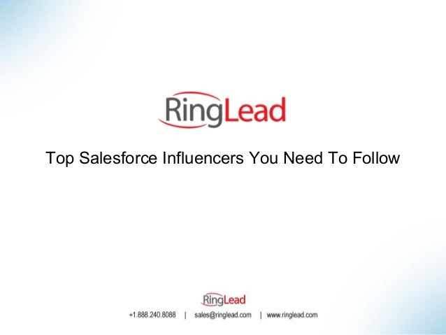 Top Salesforce Influencers You Need To Follow