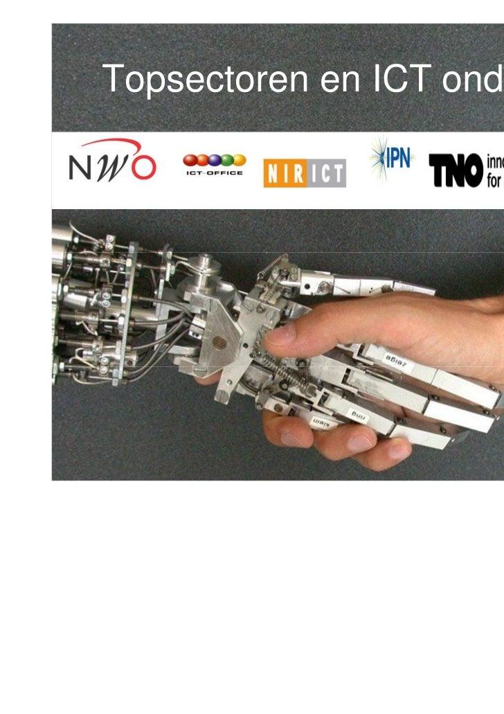 Topsectoren en ICT onderzoek