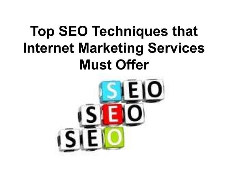 Good SEO techniques for your   website mean success.