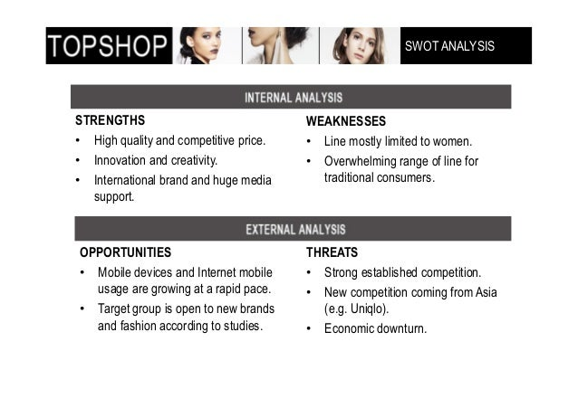 topshop strategy Essays - largest database of quality sample essays and research papers on topshop objectives.