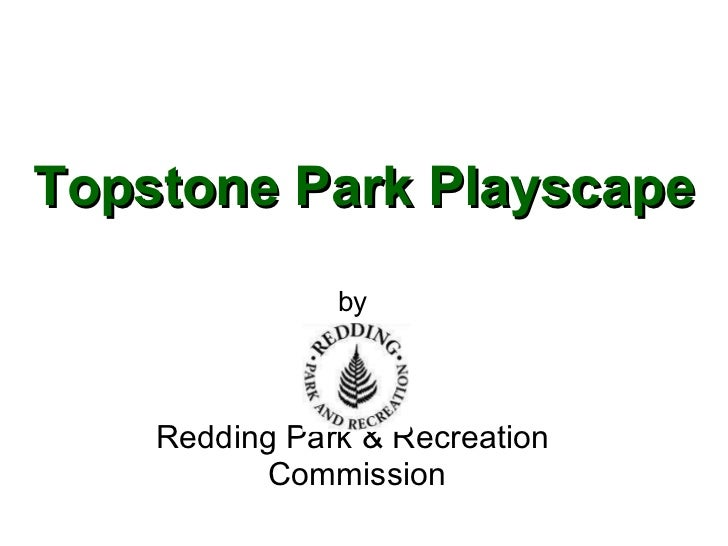 Topstone Park Playscape