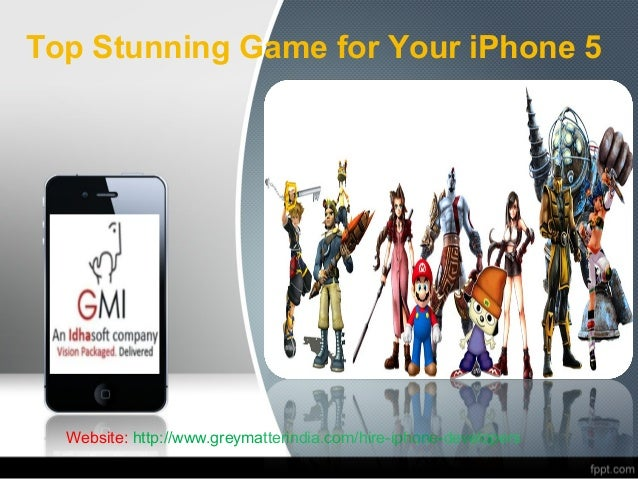 Top Stunning Game for Your iPhone 5  Website: http://www.greymatterindia.com/hire-iphone-developers