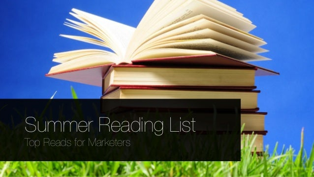 Summer Reading List for Marketers