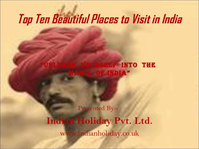 Top ten beautiful places to visit in india