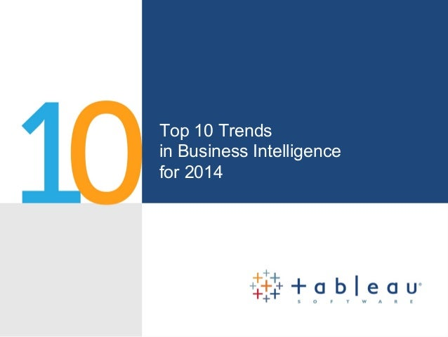 Top Ten Business Intelligence Trends for 2014