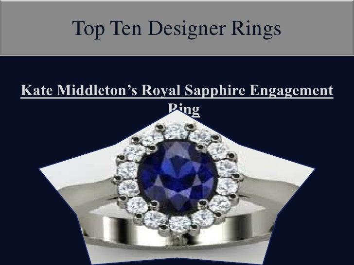 2012 Designer Rings