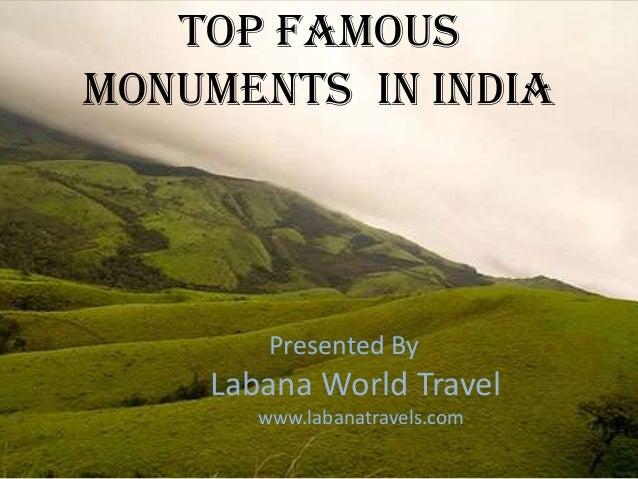 Visit the popular memorials in India