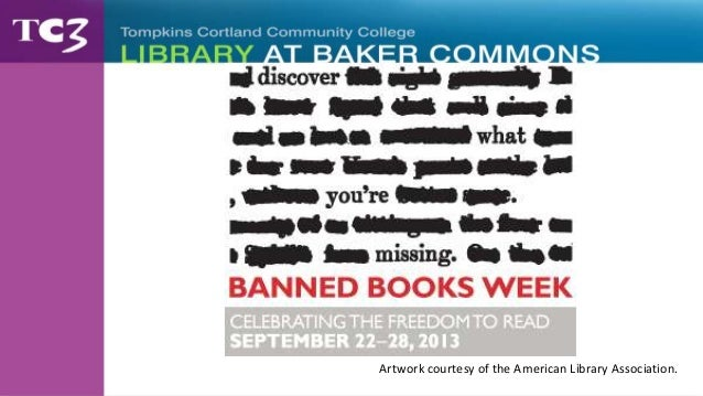 Banned Books Week - Top Ten Challenged Books of 2012